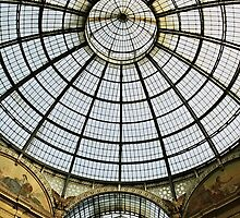 Galleria roof - Milan by Andy Anderson