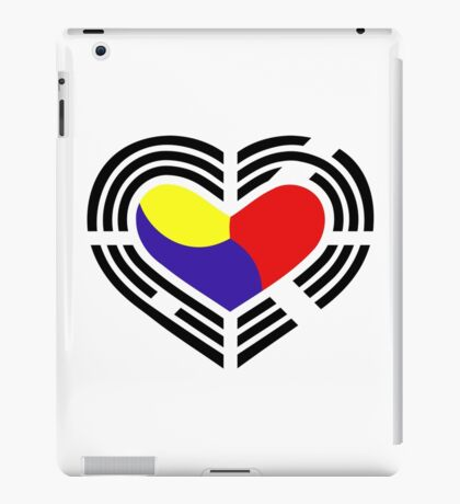 Korean Patriot Flag Series (Heart) iPad Case/Skin