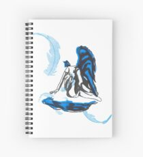 Weeping Angel Spiral Notebook