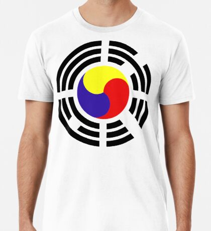 Korean Patriot Flag Series Premium T-Shirt