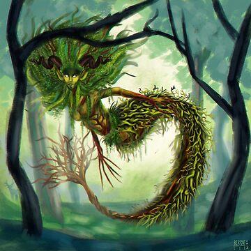sirena del bosque de Bertoni-Lee