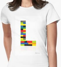 """""""L"""" Women's Fitted T-Shirt"""