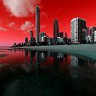 Surfers Paradise. Gold Coast, Queensland, Australia by Ralph de Zilva