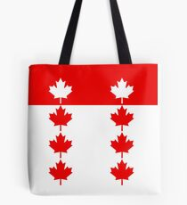 Canadian Flag Inspired Tote Bag