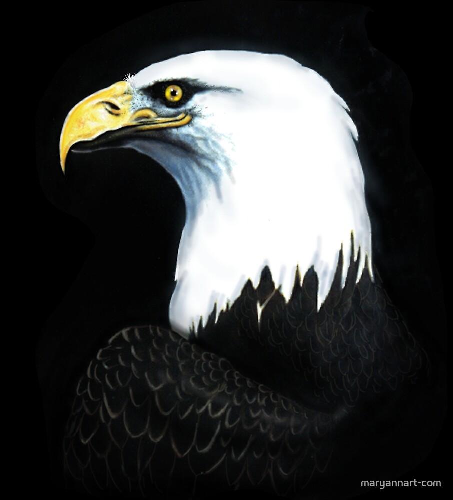 Bald Eagle by maryannart-com