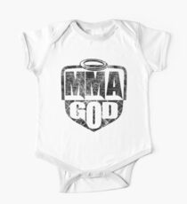 MMA God (Distressed Version) Kids Clothes