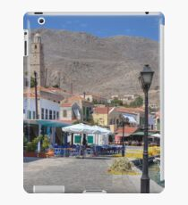 Towering over the Village iPad Case/Skin