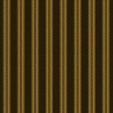 Traditionelles Gold & Schwarze Streifen von PageDesigns