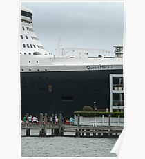 Queen Mary 2 Arrives Sydney 014 Poster