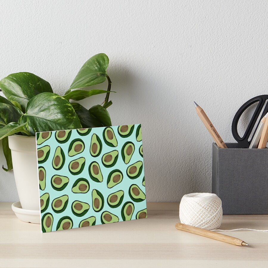 AVOCADO - MINT Art Board Print