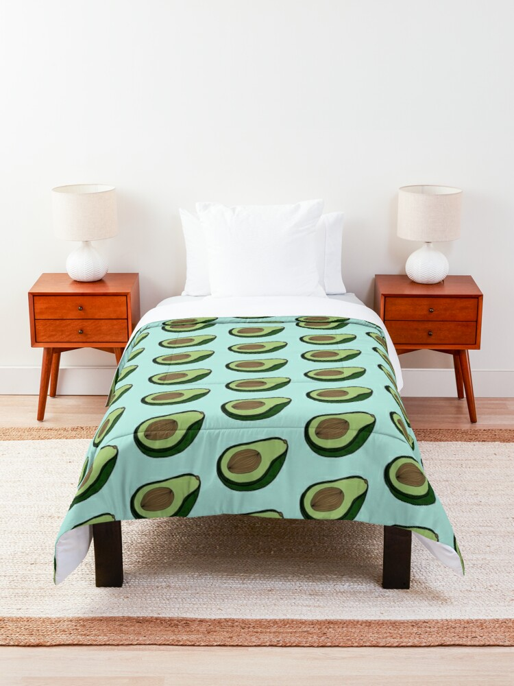 Alternate view of AVOCADO - MINT Comforter