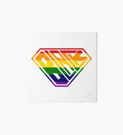 Black SuperEmpowered (Rainbow) Art Board