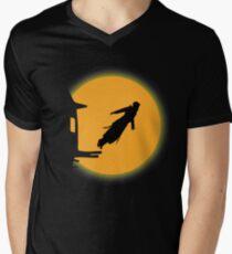 Leap of Faith | Sunset Men's V-Neck T-Shirt