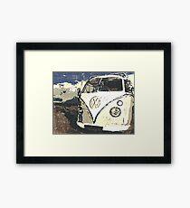 VW Splt Screen Camper 1 Framed Print