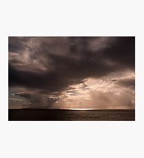 The Heavens are Opening Photographic Print