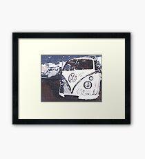 VW Splt Screen Camper 2 Framed Print