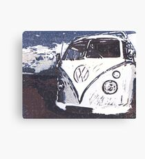 VW Splt Screen Camper 2 Canvas Print