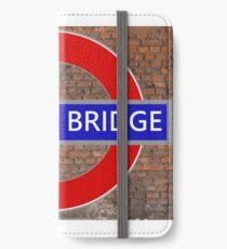 London Bridge iPhone Wallet/Case/Skin