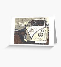 Splt Screen VW Camper 3 Greeting Card