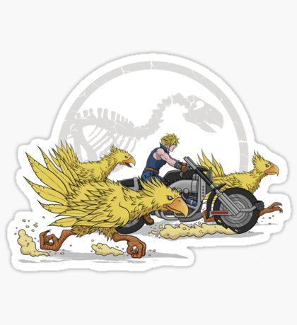Jurassic Fantasy Sticker