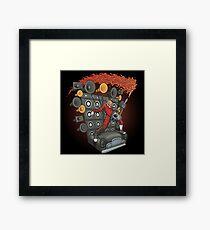 Doof Metal Framed Print