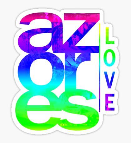 Azores Love Sticker