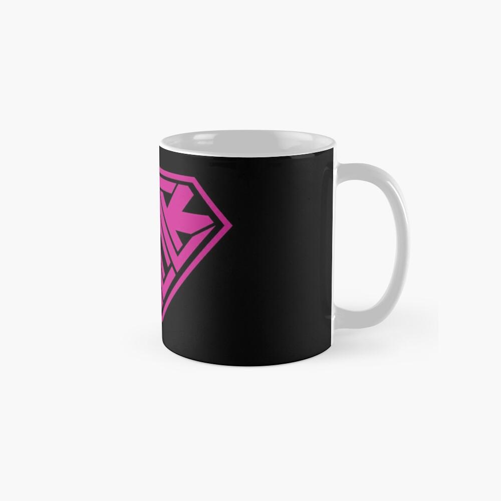 Black SuperEmpowered (Pink) Mugs