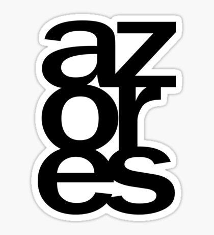 Azores Portugal Sticker