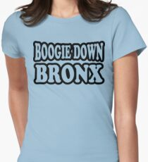 Boogie Down Bronx Women's Fitted T-Shirt