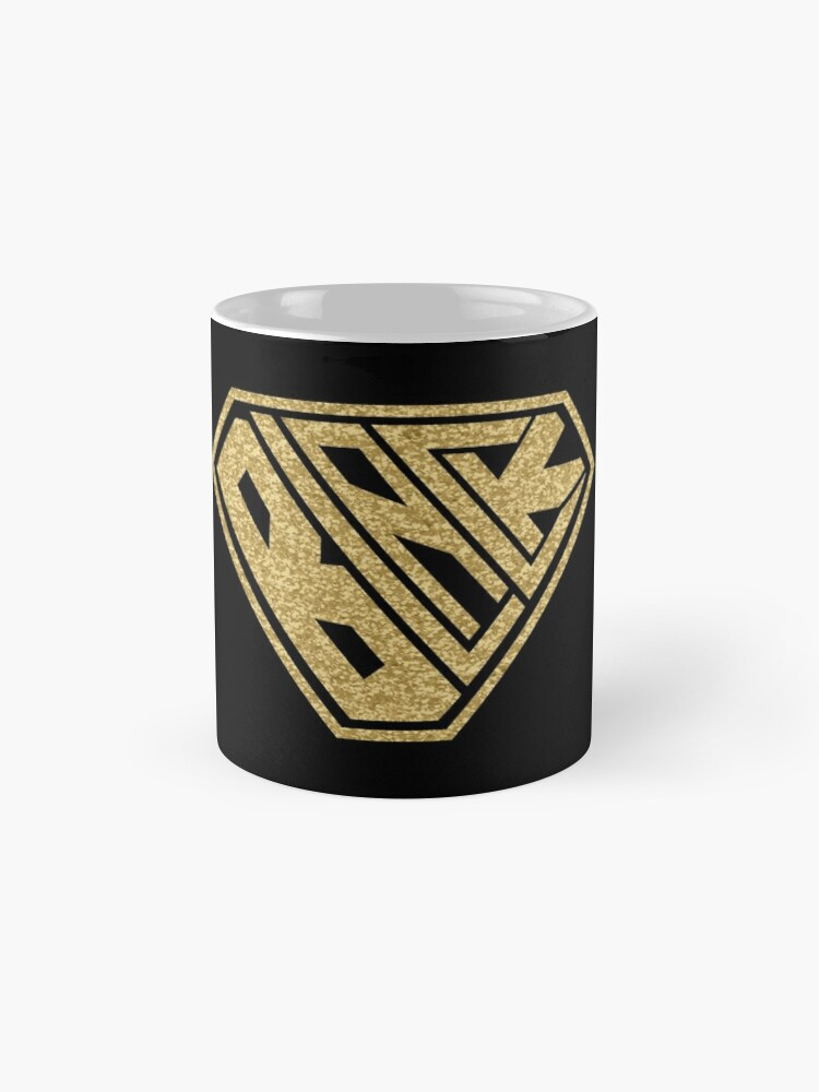 Alternate view of Black SuperEmpowered (Gold Glitter) Mugs