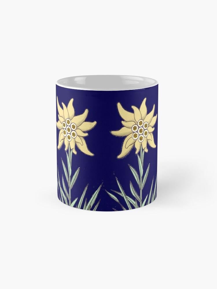 Alternate view of Edelweiss Flower ...an abstract version  Mug