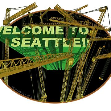 Welcome To Seattle (Cranes) by RyanJGill