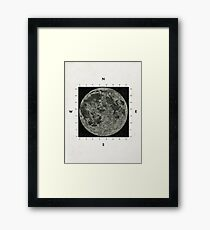 Moon Scale Framed Print