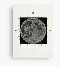 Moon Scale Canvas Print