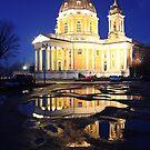 Reflecting church by Stefano  De Rosa
