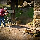 Looking For That Perfect Shot by Christopher R. Watts