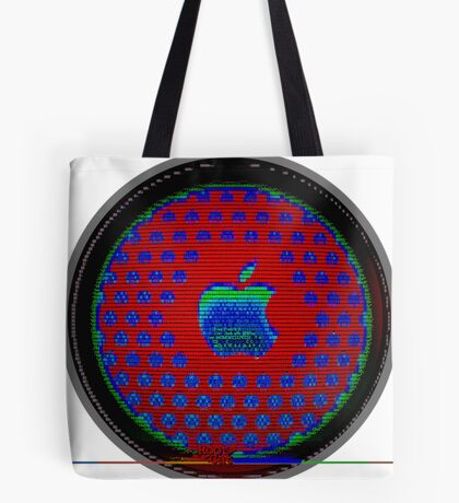Appl. A12 Q-Core Ascii 3 Tote Bag