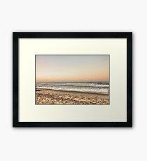 Beach View Framed Print