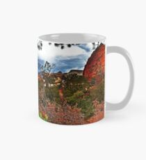 zion canyon overlook, utah Mug
