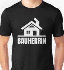 Camiseta unisex Constructor de casa edificio superando idea de regalo sitio de construcción