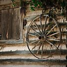 Window and Wheel by Christopher R. Watts