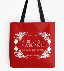 House Naberrie (white text) Tote Bag