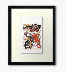 Ramen Rider Framed Print