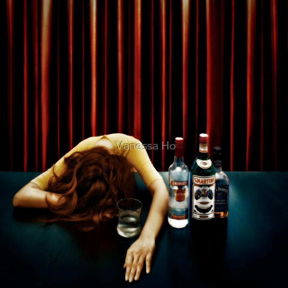 Elegantly wasted by Vanessa Ho
