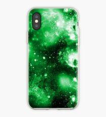 Vinilo o funda para iPhone Green Galaxy