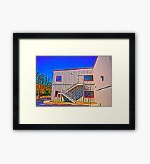 Metal Building Framed Print