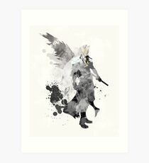Final Fantasy 7 - Sephiroth Art Print Art Print
