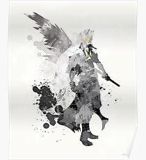 Final Fantasy 7 - Sephiroth Art Print Poster