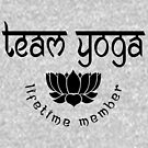 Team Yoga Lifetime Member design by EthosWear