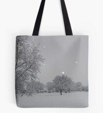 Overnight Snow Tote Bag